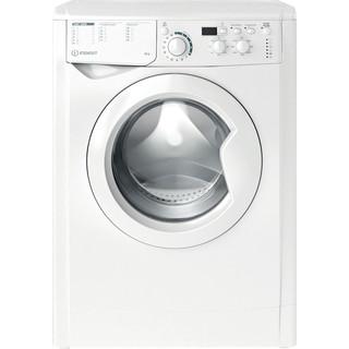 """""""Indesit"""" Skalbimo mašina Laisvai pastatoma EWUD 41051 W EU N Balta Pakraunama iš priekio A+ Frontal"""
