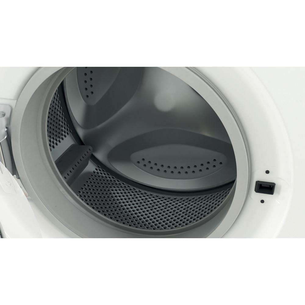 Indesit Washing machine Free-standing EWD 71452 W UK N White Front loader E Drum
