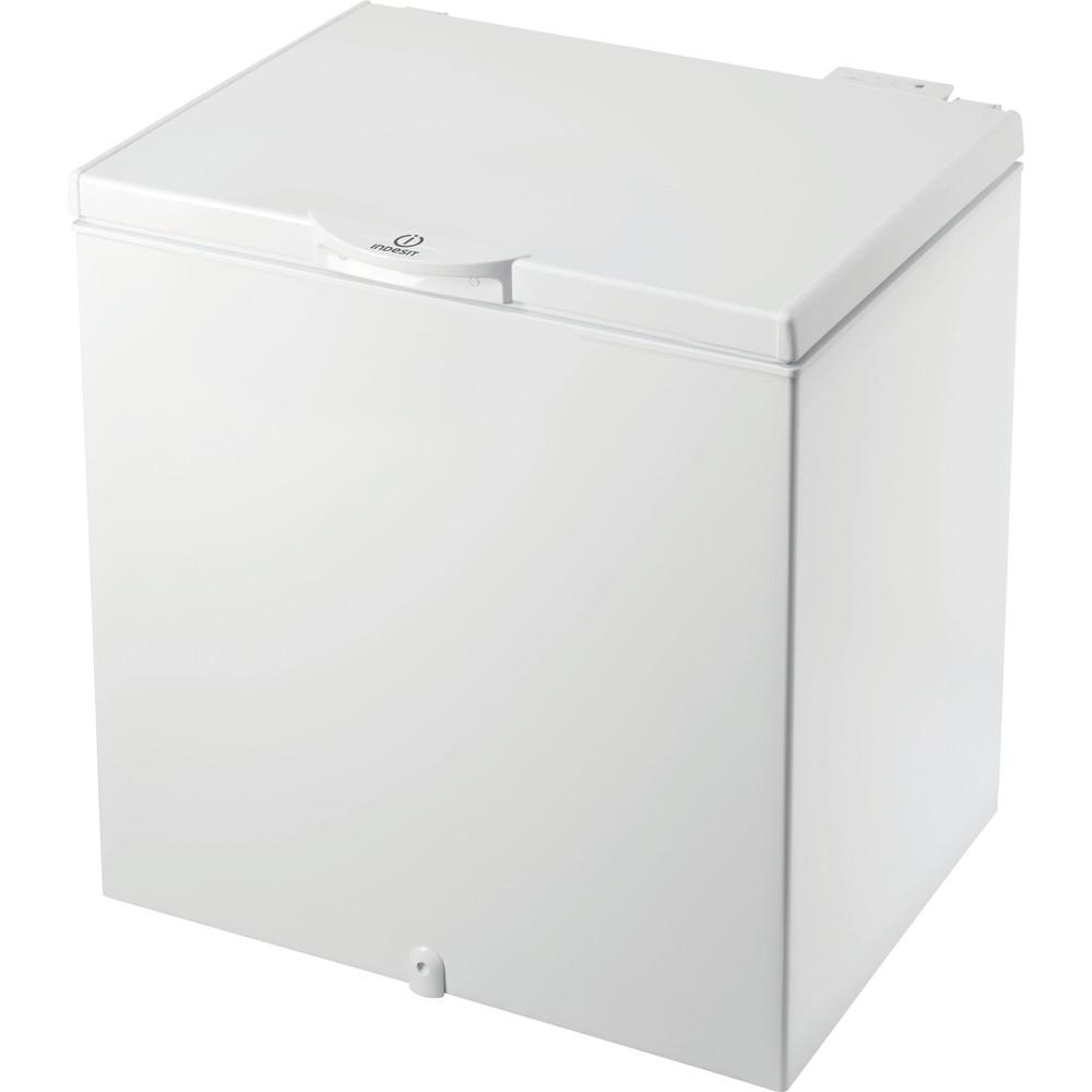 Indesit Congelador Livre Instalação OS 1A 200 H 2 Branco Perspective