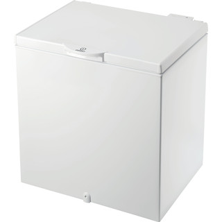 Indesit Freezer Free-standing OS 1A 200 H2 1 White Perspective
