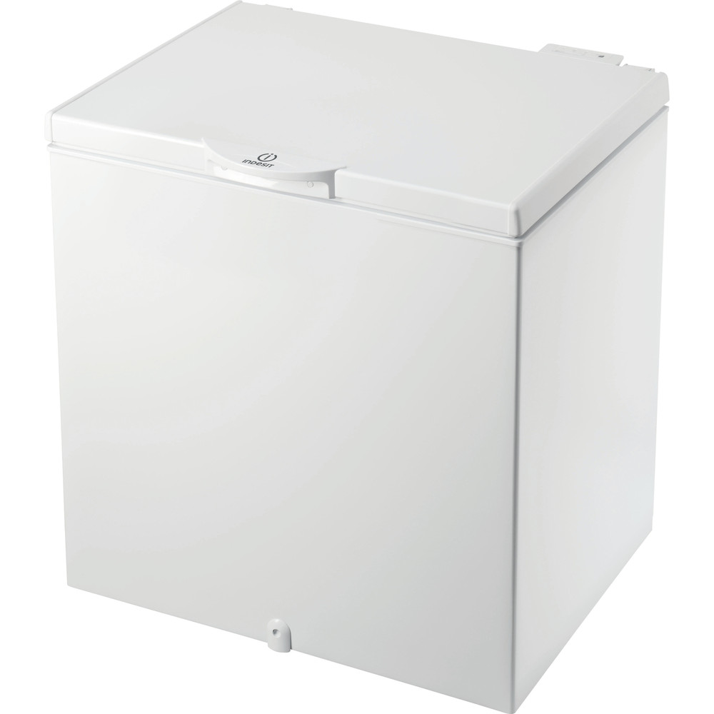 Indesit Frys Fristående OS 1A 200 H 2 White Perspective