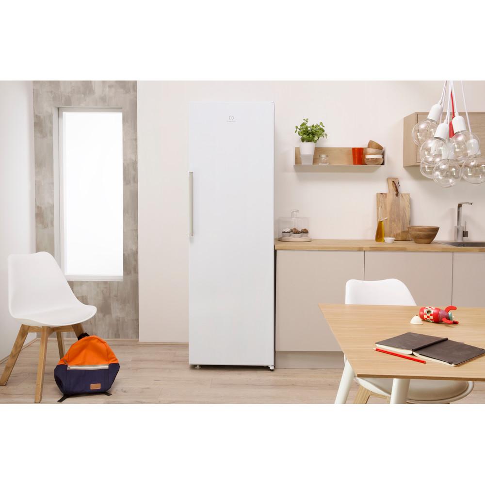 Indesit Réfrigérateur Pose-libre SI8 1Q WD Blanc Lifestyle frontal