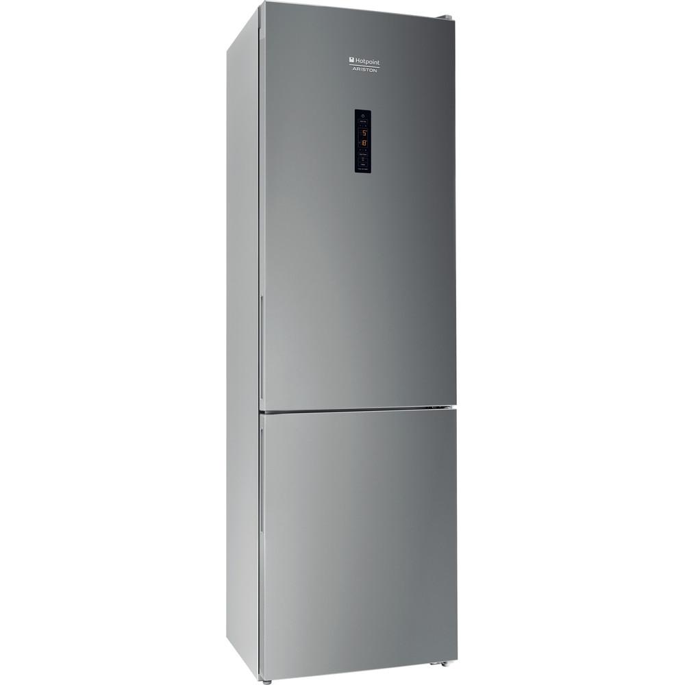 Hotpoint_Ariston Комбинированные холодильники Отдельностоящий RFI 20 X Зеркальный/Inox 2 doors Perspective