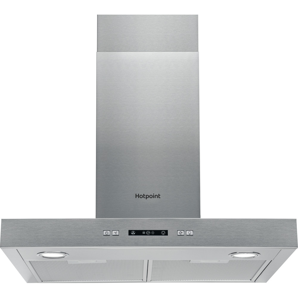 Hotpoint HOOD Built-in PHBS6.7FLLIX Inox Wall-mounted Electronic Frontal