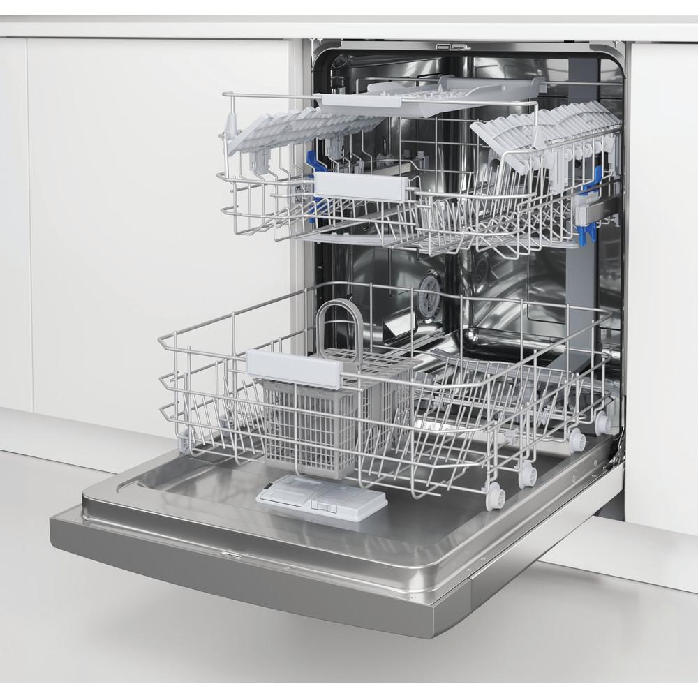 Indesit Diskmaskin Inbyggda DUC 2C24 AC X Underbyggd E Lifestyle perspective open