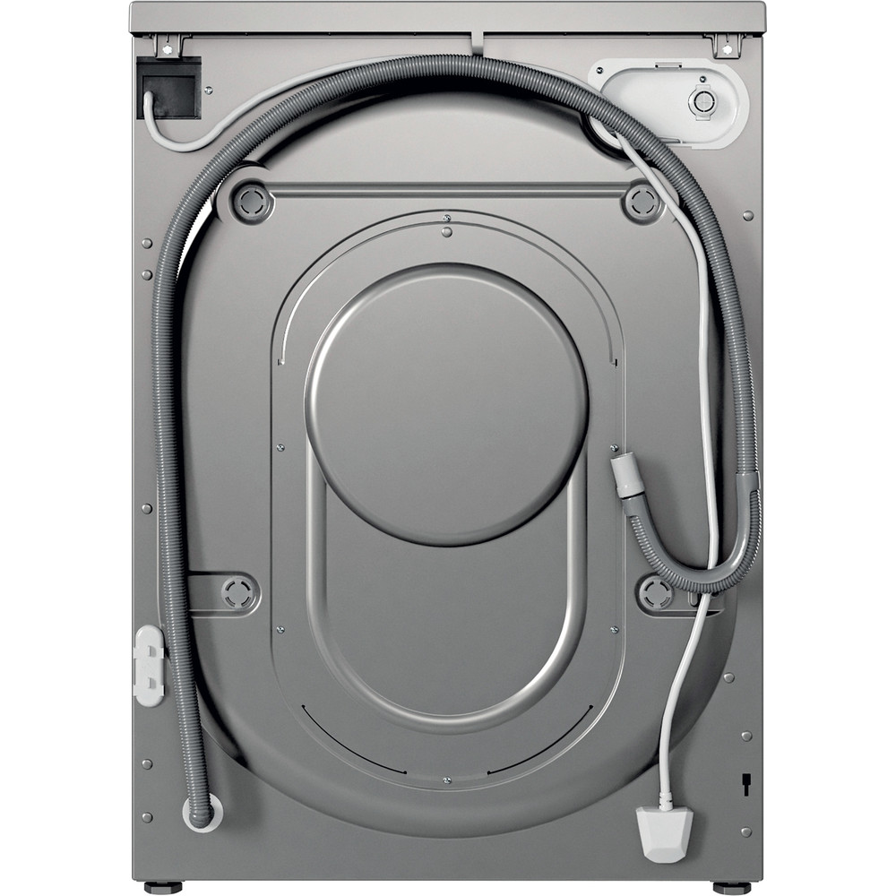 Indesit Washer dryer Free-standing IWDD 75145 S UK N Silver Front loader Back / Lateral