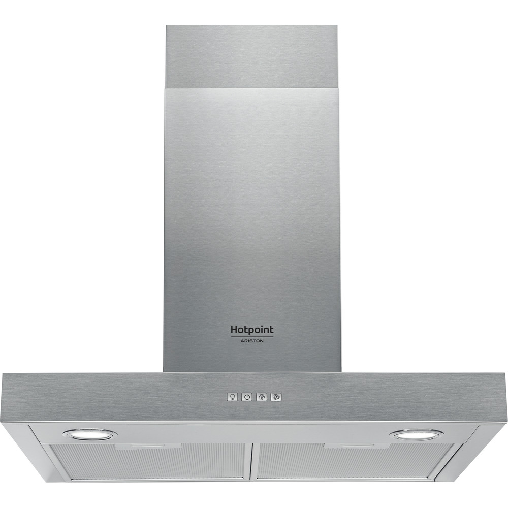 Hotpoint_Ariston Exaustor Encastre HHBS 6.4 F LM X Inox Wall-mounted Mecânico Frontal