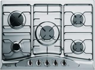 Whirlpool gas hob: 5 gas burners - AKM 361/IX/01