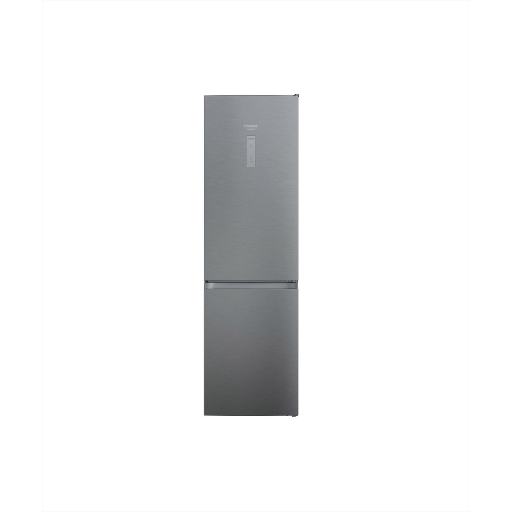 Hotpoint_Ariston Combiné Pose-libre HAFC9 TO32SX Saturn Steel 2 portes Frontal
