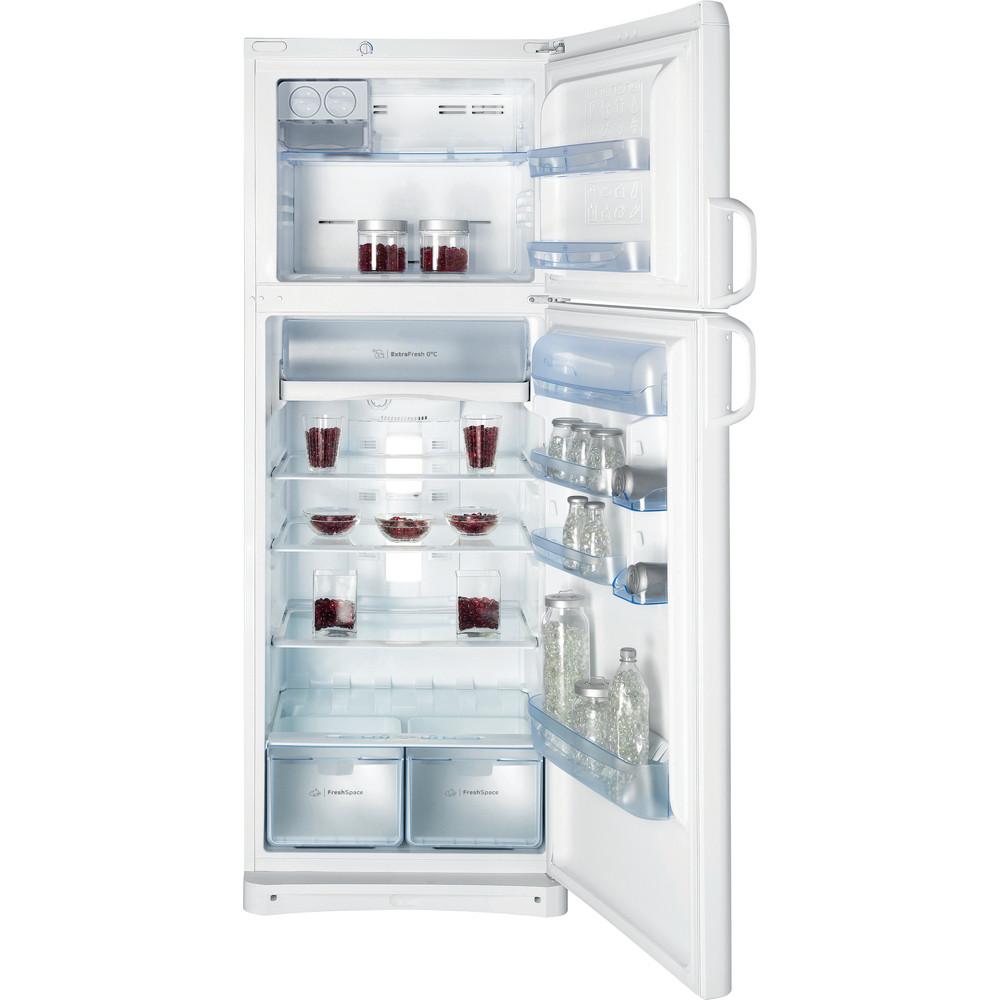 Indesit Combinazione Frigorifero/Congelatore A libera installazione TAAN 6 FNF1 Bianco 2 porte Frontal open