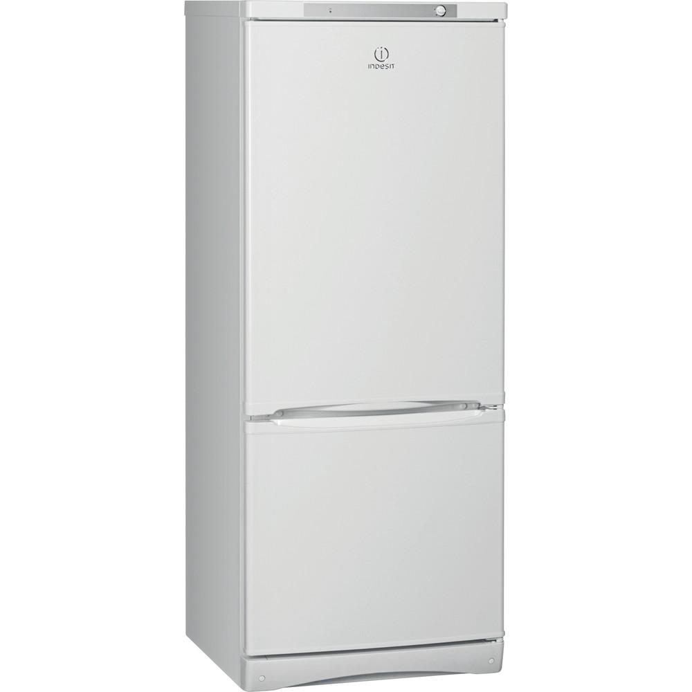 Indesit Холодильник с морозильной камерой Отдельностоящий ES 15 Белый 2 doors Perspective