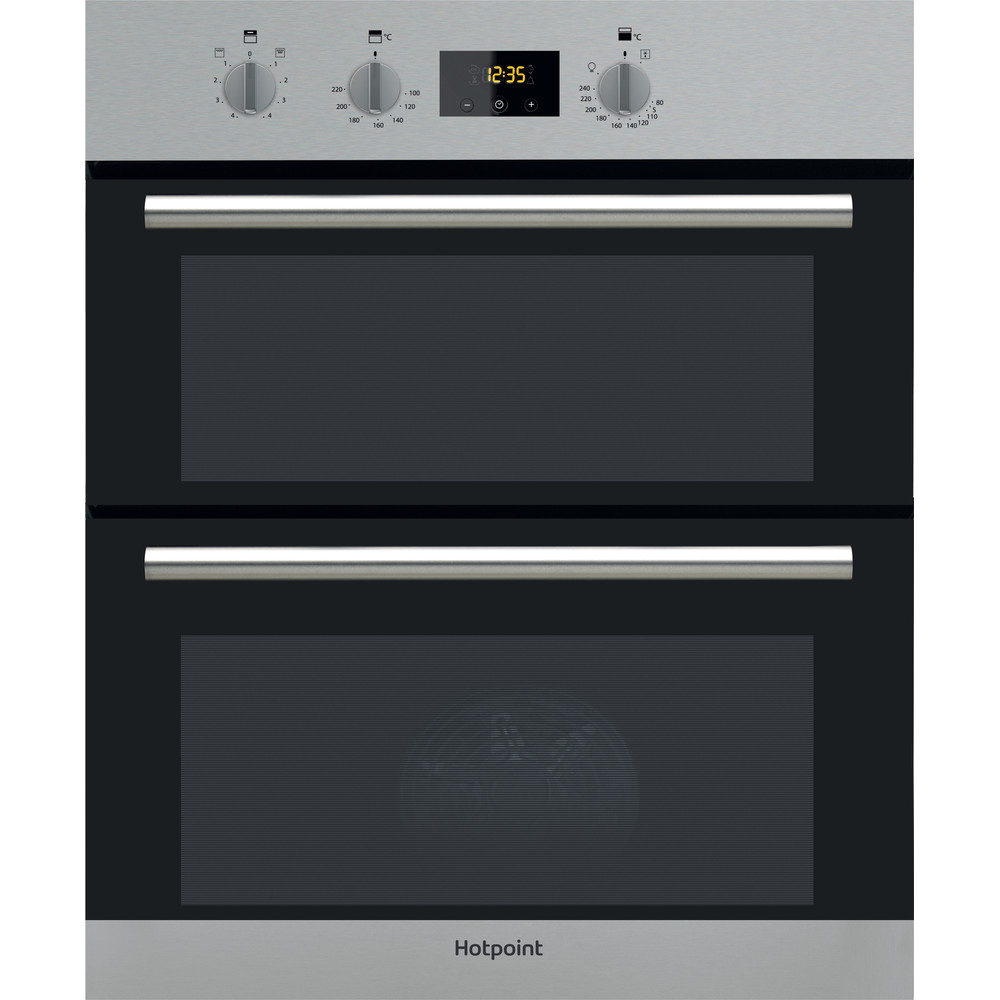 Hotpoint Double oven DU2 540 IX Inox A Frontal