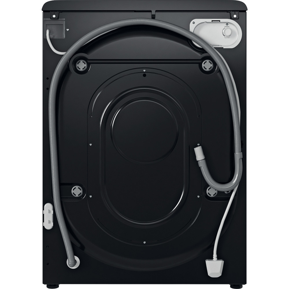 Indesit Washing machine Free-standing BWE 91483X K UK N Black Front loader D Back / Lateral