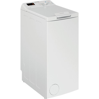 Indesit Vaskemaskine Fritstående BTW S6230P EU/N Hvid Topbetjent D Perspective