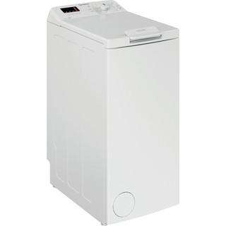 Indesit Tvättmaskin Fristående BTW S6230P EU/N White Top loader D Perspective