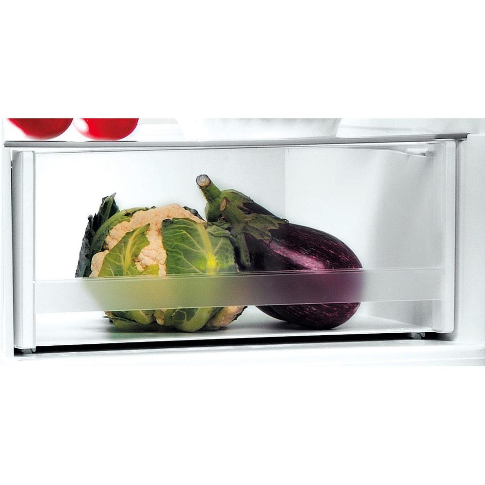 Indesit Hűtő/fagyasztó kombináció Szabadonálló LI7 SN2E X Inox 2 doors Drawer