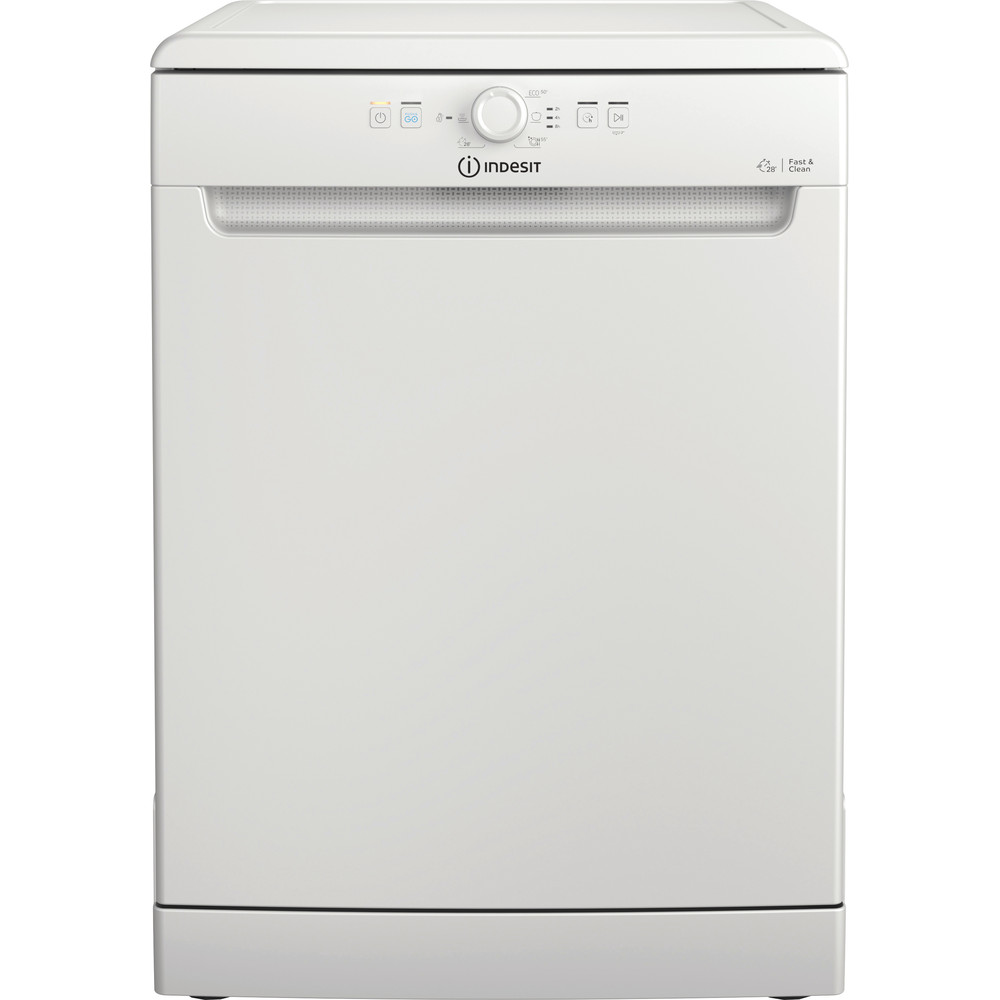 Indesit Lave-vaisselle Pose-libre DFE 1B19 14 Pose-libre F Frontal