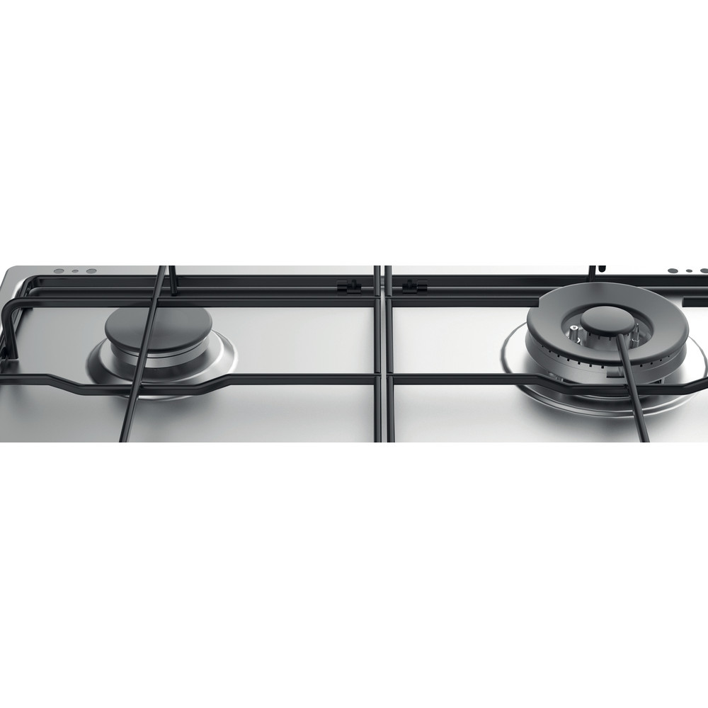 Indesit Варочная поверхность THP 642 W/IX/I RU Inox Газовая Heating_Element