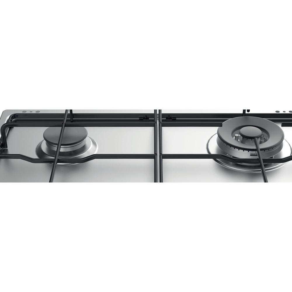 Indesit Placa THP 642 W/IX/I RU Inox Gás Heating element