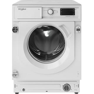 Whirlpool Πλυντήριο ρούχων Εντοιχιζόμενο BI WMWG 91484E EU Λευκό Front loader A+++ Frontal