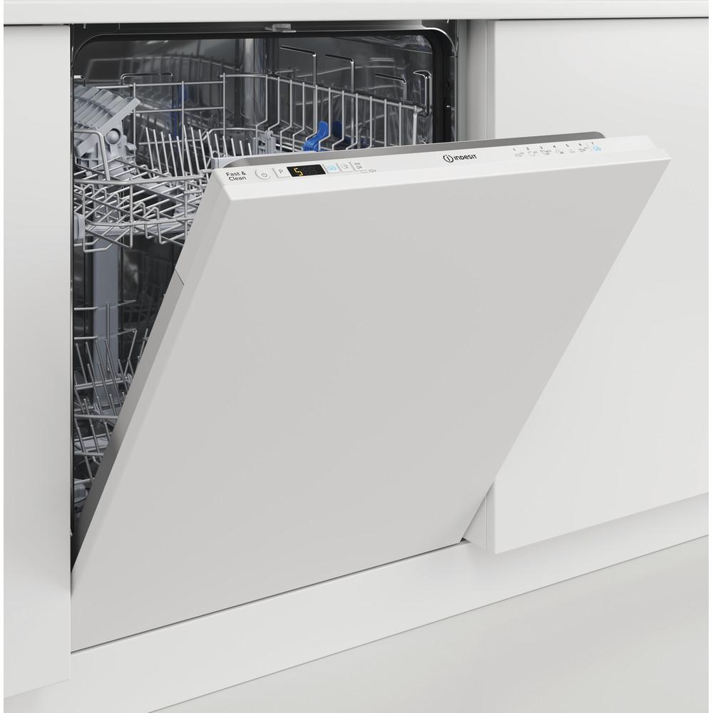 Indesit Lave-vaisselle Encastrable DIC 3B+19 Tout intégrable F Lifestyle perspective open