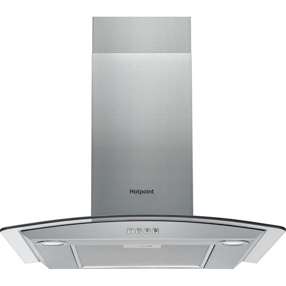 Hotpoint HOOD Built-in PHGC6.4 FLMX Inox Wall-mounted Electronic Frontal