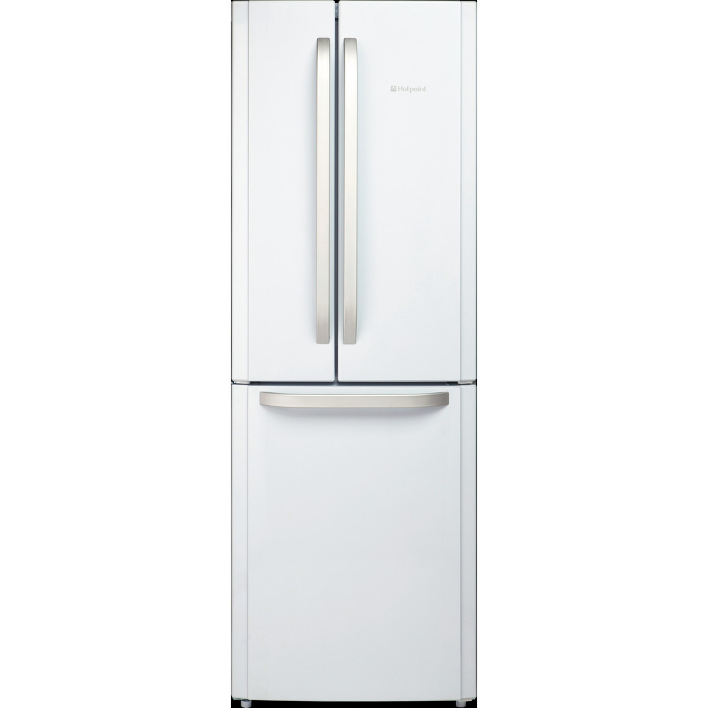 Hotpoint Fridge Freezer Free-standing FFU3D W 1 White 2 doors Frontal