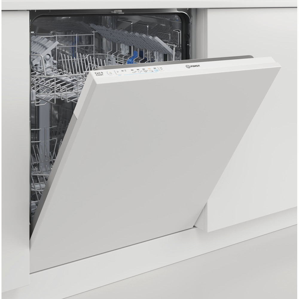 Indesit Mašina za pranje posuđa ugradbeni DIE 2B19 A A scomparsa totale F Lifestyle perspective open
