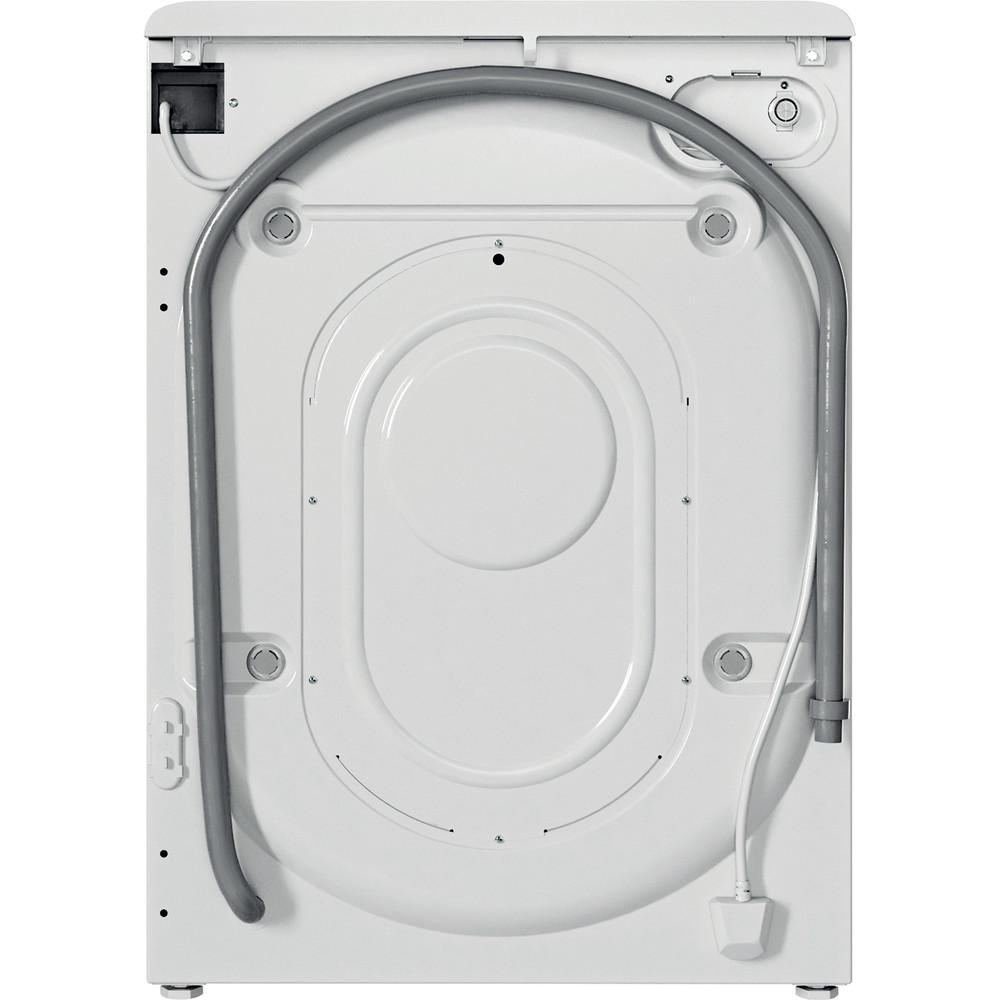 Indesit Perilica za rublje Samostojeći BWA 71252 W EE N Bijela Prednje punjenje E Back / Lateral