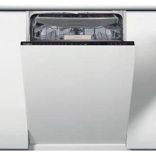Посудомийна машина Whirlpool інтегрована: чорний колір, вузька - WSIP 4O23 PFE
