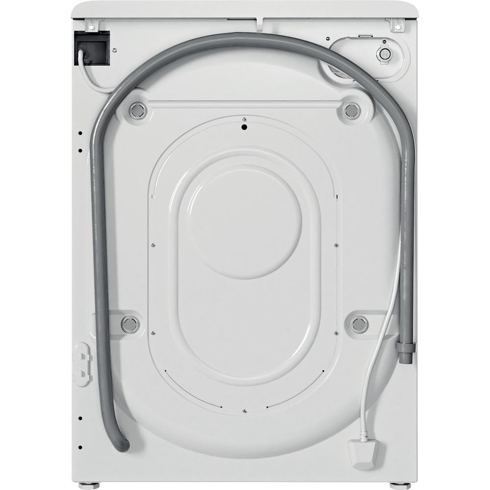 Indesit Lave-linge Pose-libre BWA71252WFR N Blanc Lave-linge frontal E Back / Lateral
