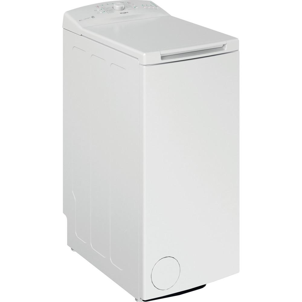 Whirlpool toppmatad tvättmaskin: 6 kg - PWTL1916/N