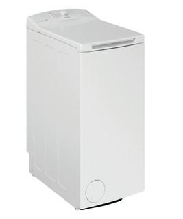 Fritstående Whirlpool-vaskemaskine med topbetjening: 6,0 kg - PWTL1916/N