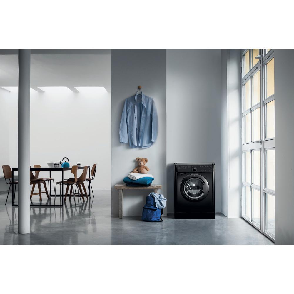 Indesit Dryer IDVL 75 BRK.9 UK Black Lifestyle_Frontal