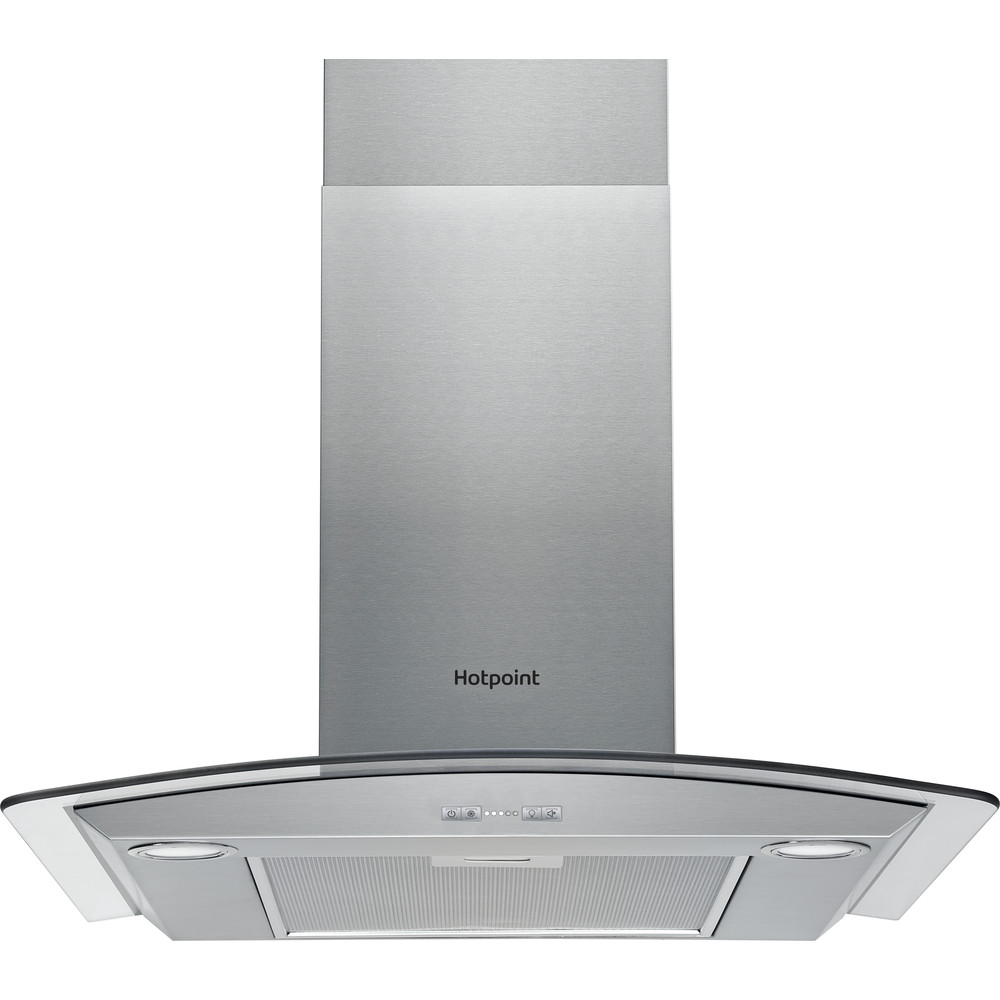 Hotpoint HOOD Built-in PHGC6.5FABX Inox Wall-mounted Electronic Frontal