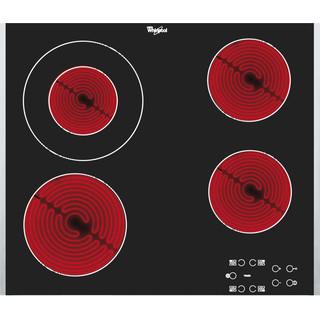 Whirlpool Ploča za kuhanje AKT 8130 BA Crna Radiant vitroceramic Frontal