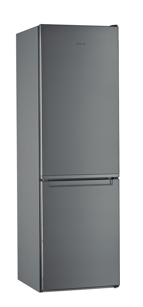 Whirlpool Комбиниран хладилник с камера Свободностоящи W5 821E OX 2 Оптичен инокс 2 врати Perspective