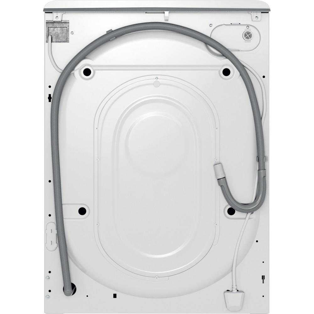Indesit Lave-linge Pose-libre MTWE 81683 WK FR Blanc Lave-linge frontal A+++ Back / Lateral