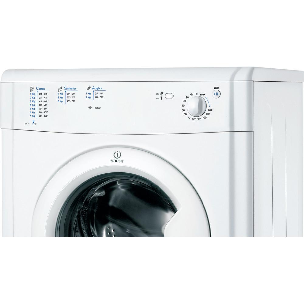 Indesit Dryer IDV 75 (UK) White Control panel