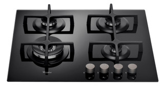 Whirlpool gas hob: 4 gas burners - GOA 6423/NB