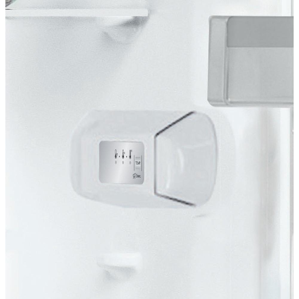 Indesit Jääkaappi Vapaasti sijoitettava SI8 A1Q W 2 Polar white -valkoinen Control panel