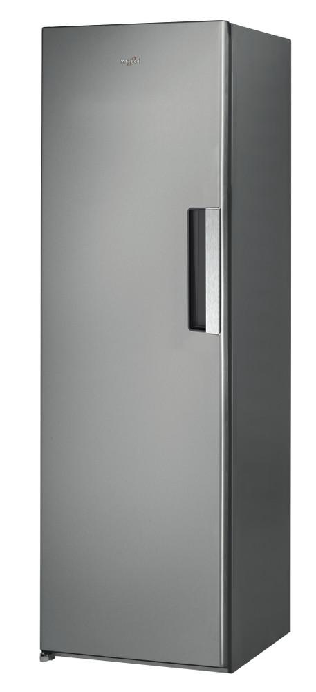 Whirlpool Freezer Free-standing UW8 F2C XLSB UK 2 Optic Inox Perspective