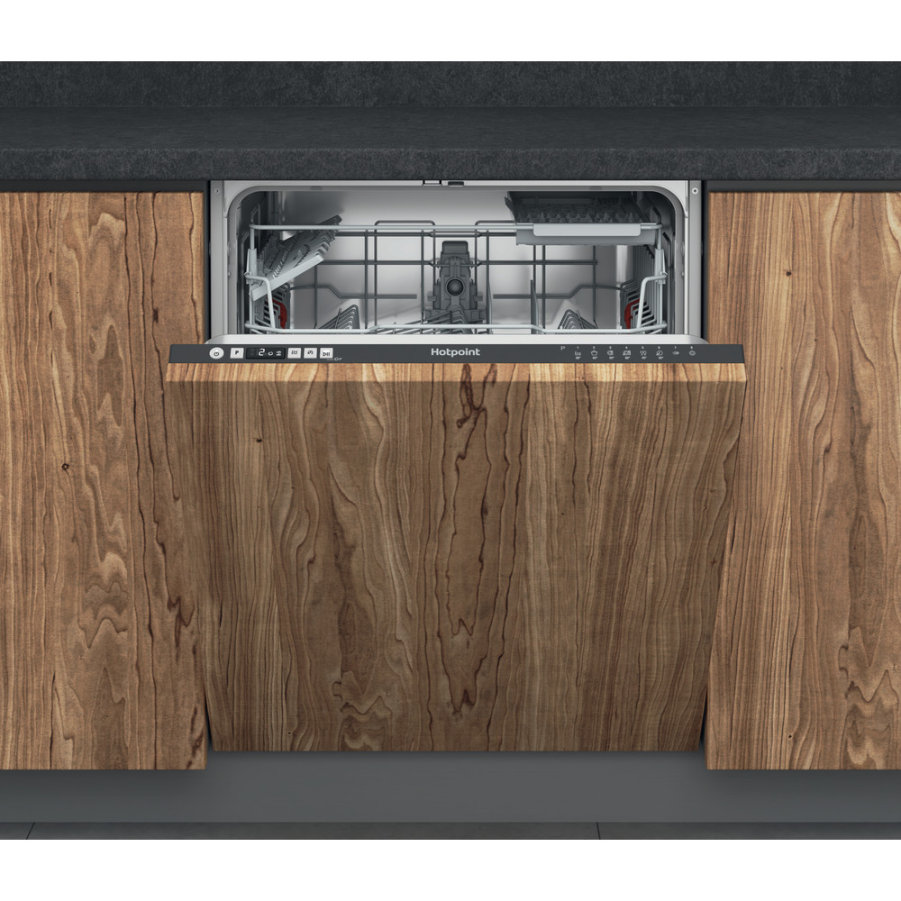 Hotpoint Dishwasher Built-in HIC 3B19 C UK Full-integrated F Frontal