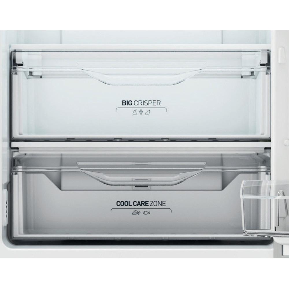 Indesit Combinazione Frigorifero/Congelatore A libera installazione XI9 T2O X MB Inox 2 porte Drawer
