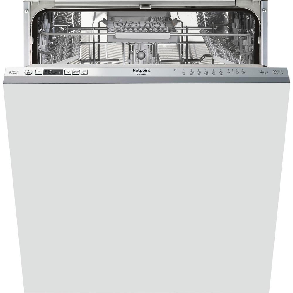 Hotpoint_Ariston Máquina de lavar loiça Encastre HIO 3C21 C W Encastre total A Frontal