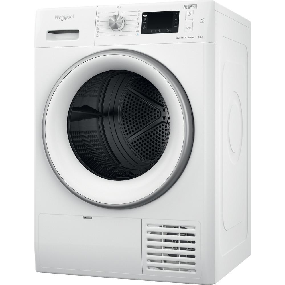 Whirlpool värmepumpstumlare: fristående, 8 kg - FFT D 8X3WS EU