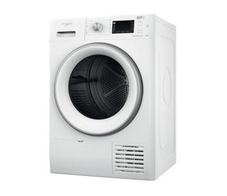 Whirlpool tørretumbler med varmepumpe: fritstående, 8 kg - FFT D 8X3WS EU