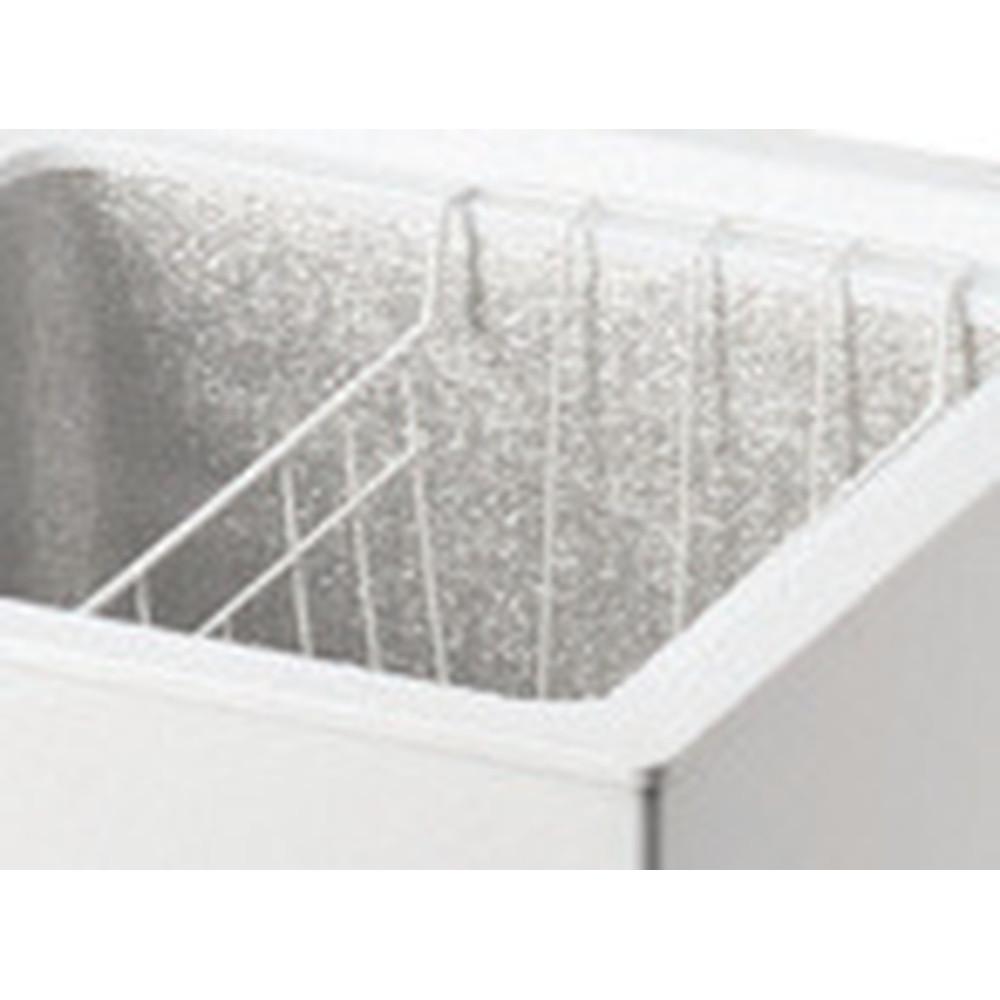 Indesit Congelatore A libera installazione OS 1A 100 Bianco Accessory