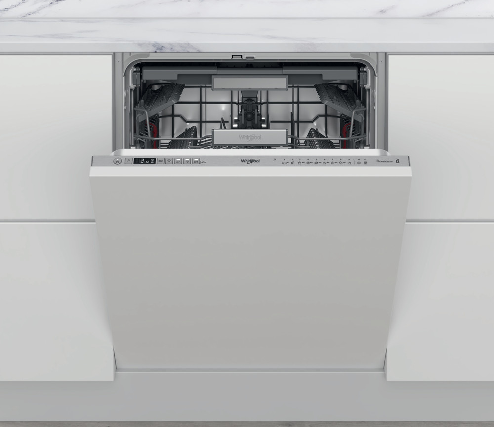 Whirlpool Dishwasher Vgradni WIO 3T133 PLE Povsem vgrajen D Frontal