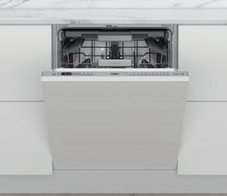 Whirlpool vgradni pomivalni stroj: Inox barva, Standardna širina - WIO 3T133 PLE